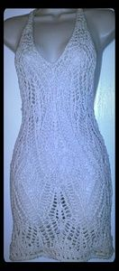 Abercrombie Crochet Swimsuit Cover Up